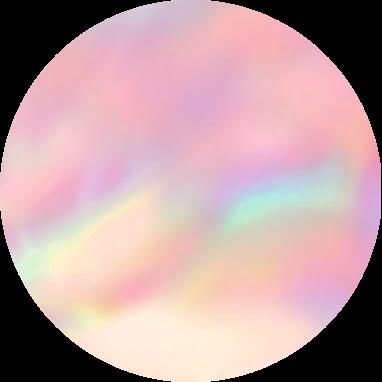 pastel aesthetic background circle rainbow freetoed...