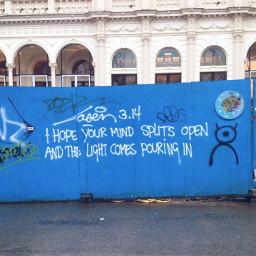 pcstreetart streetart art quote graffiti