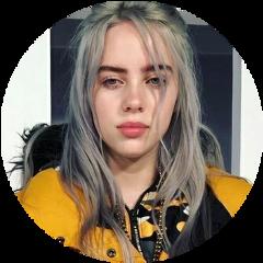 freetoedit billieeilish billie yellow grey