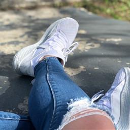 shoes sunny skate skatepark ripped freetoedit