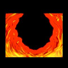fire pbvorlage circle edge freetoedit