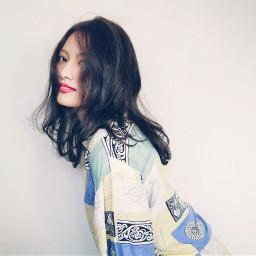 pcselfportrait asianbeauty stylish sophisticatedlook portrait freetoedit