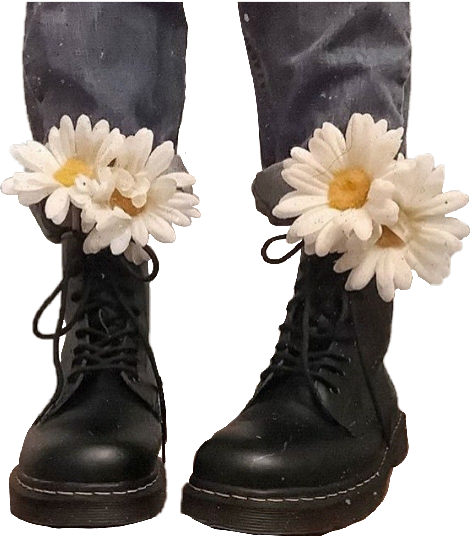 preview of buy cheap get new boots docs doc martens shoes flowers aesthetic tumblr...