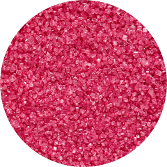 pink gliiter sprinkles circle background