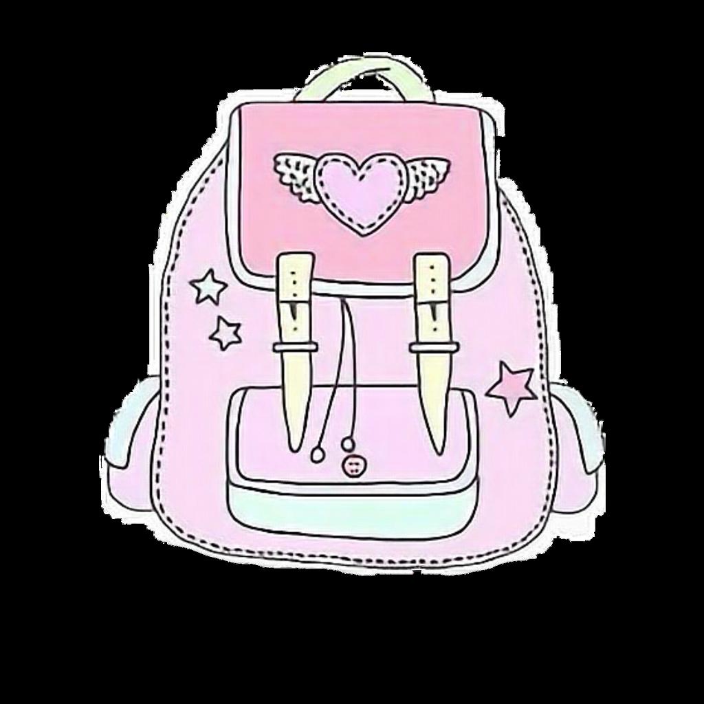 Bag Pink Tumblr Interesting Art Cool Sticker Accesorie