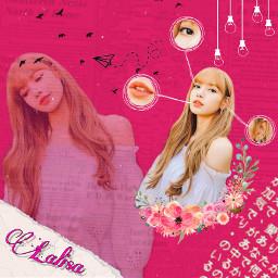 lisa lalice blackpink pink cute freetoedit