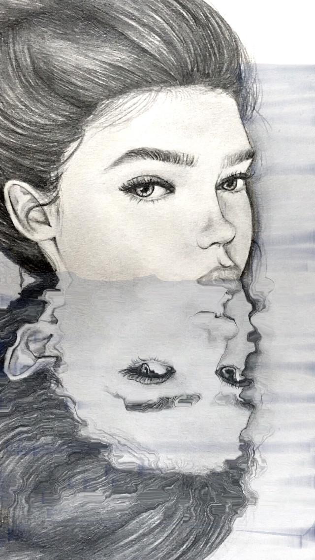 #underwater #edited #drawing #art #people #water #beautiful #beautifulgirl #prettygirl #artsy #ugly #image