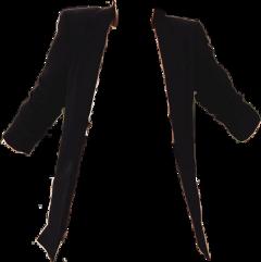 sticker black jacket casual freetoedit