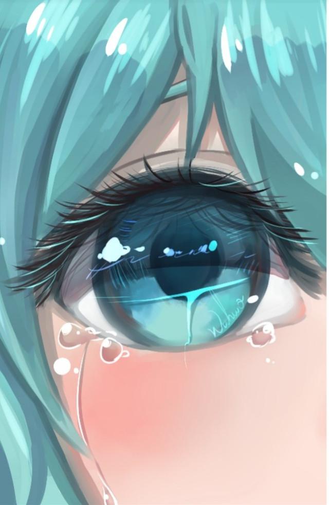 #hatsune_miku  #sad #anime #mamga #fakesmile #tag #day Mein Tag war ziemlich traurig... My Day was very sad ...      #sadlife