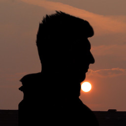 sunset sunsetsky today black night day freetoedit