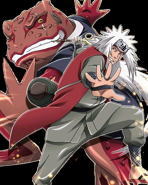 Naruto Shippuden Jiraiya The Galant Sanin Sage Mode Pic