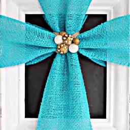 freetoedit burlap cross turquoise gems