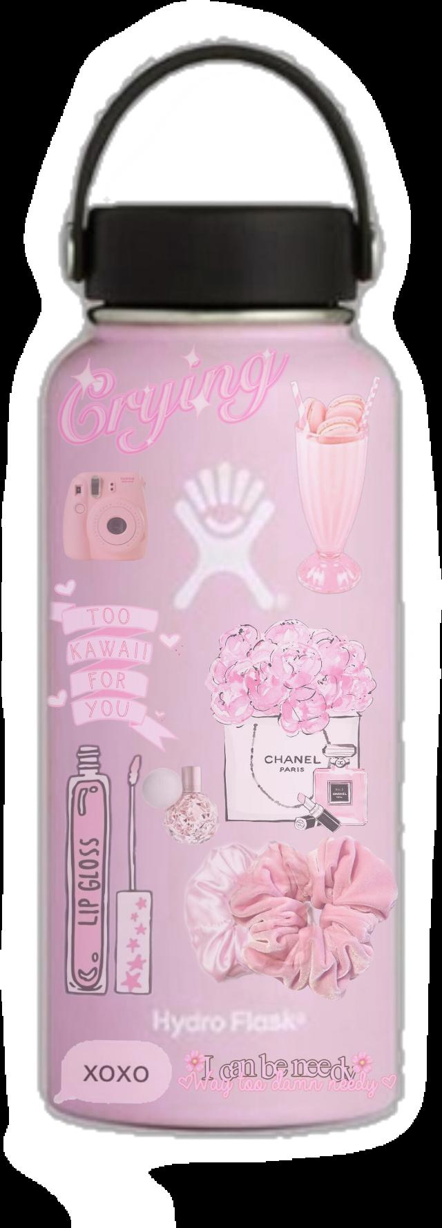 #pink #pinkaesthetic #aesthetic #basic #basicgirl #hydroflask #pinkhydroflask #waterbottle #trendy #niche #nichememes #pastelpink #ariana #polyvore #polyvorepng #pngs #pngaesthetic