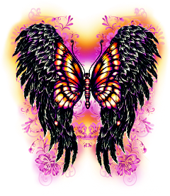 vibrant beautiful multicolored wings fairytail freetoedit scwings