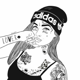 freetoedit girl tattoo tattooart xxxtentacion