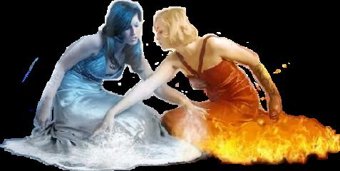 fire ice war vs woman freetoedit sciceandfire