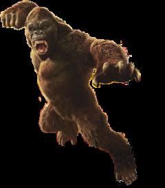kingkong kong gorilla freetoedit