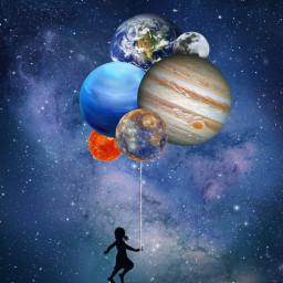 freetoedit planet planeta sky galaxy