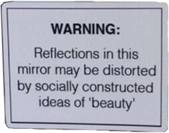 warning beauty mirror social freetoedit