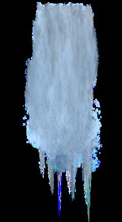 waterfall bubbles smoke haze fog freetoedit