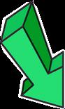 green arrow greenarrow pointer marker freetoedit