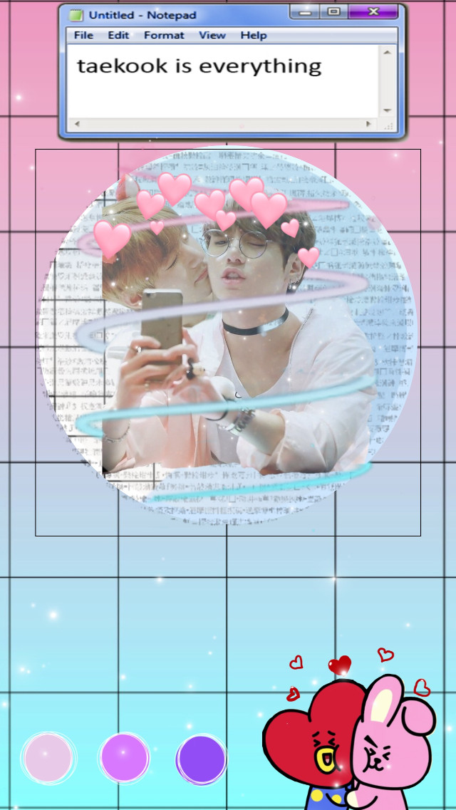 ~READ EVERYTHING!~ I dont ship them romanticly! There just those two cute bestfriends together 💞  #vkook#taekook#jungkook#jeonjungkook#goldenmaknae#kookie#jk#taetae#taehyung#kimtaehyung#v#bts#bangtansoneoyondan#bulletproofscouts#bangtan #bangtanboys @ 💕💞💖💘💗💓💕💞💖💘💗💓💕💞💖💘💗  I want to shout out @kookjeon503 ! She's an amazing girl with a cute personality! You should follow her!! She's a beloving person and already like a sister for me, even though we just met, we have alot in common. So please follow her, you'll get 1-10 likes in return! So be sure to click on her name and follow her right now! Her edits are cute and pretty!! #freetoedit