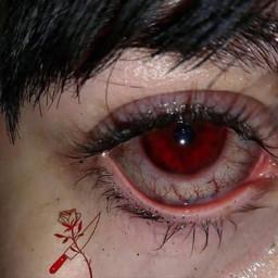 sad blood eyes bloodeyes depression