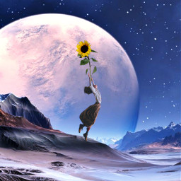 freetoedit surreal planet levitate myedit