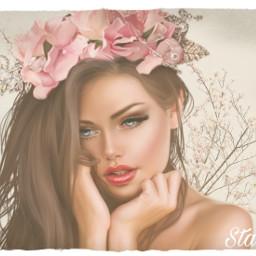 ircblossoming blossoming freetoedit beautifulgirl blossomtree