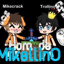 freetoedit mikellino mikecrack trollino lurica07