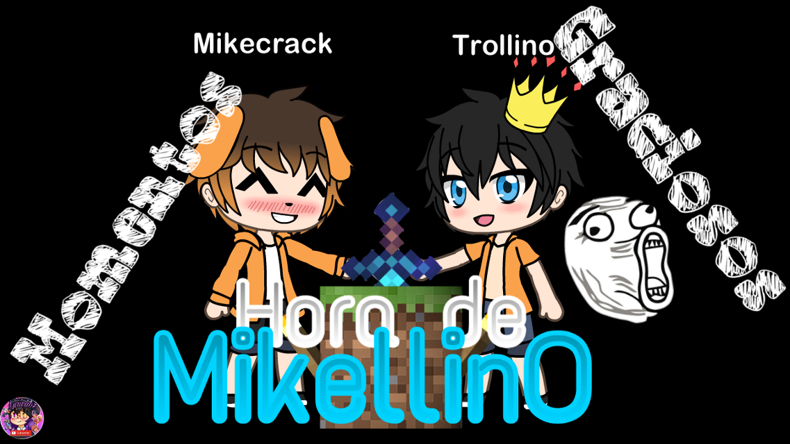 #freetoedit #mikellino #mikecrack #trollino #lurica07