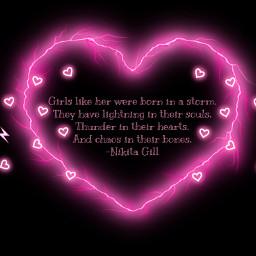 freetoedit nikitagill pinktext pinkhearts pinklightning