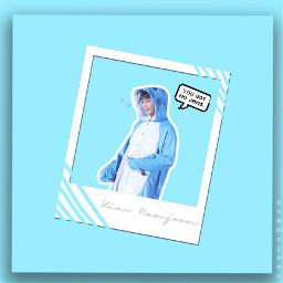 blue bts rm godofdestruction cute