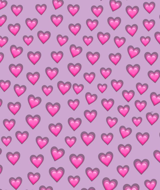 #heart #hearts #emoji #emojibackground #freetoedit