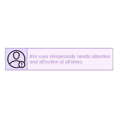 attention lavender pastel affection thisuser freetoedit