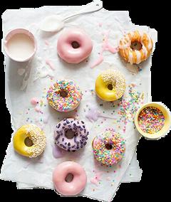 sceastercandies eastercandies donut candy pastel freetoedit