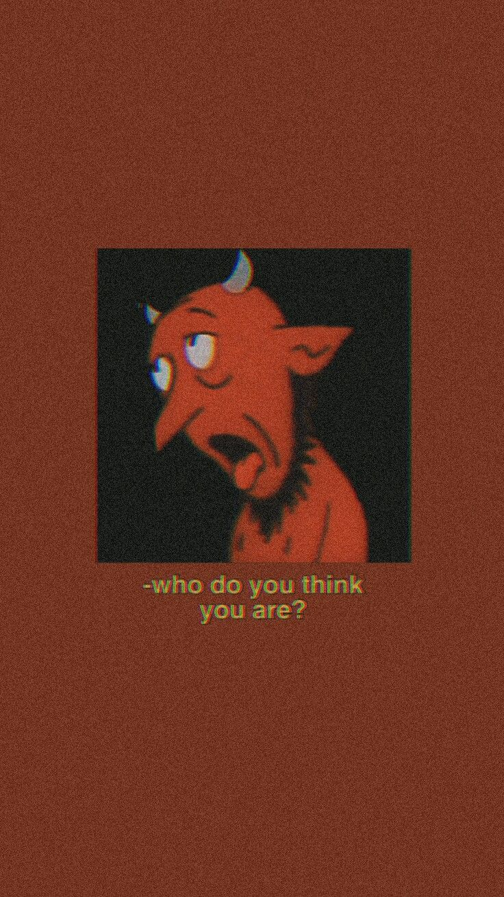 Aesthetic Red Wallpaper Devil