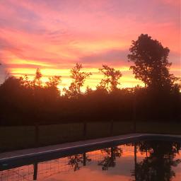 pcinthesky inthesky sunset reflection photography