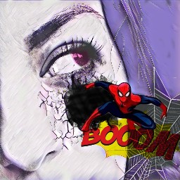 freetoedit comic magiceffects eyescolor spider