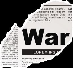 newspaper polyvore png war news freetoedit