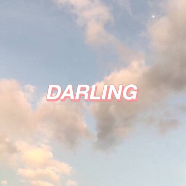 #freetoedit 👉🏼 #Aesthetic #Clouds #Darling #Sky #Cloud #Writing ☁️ @pa