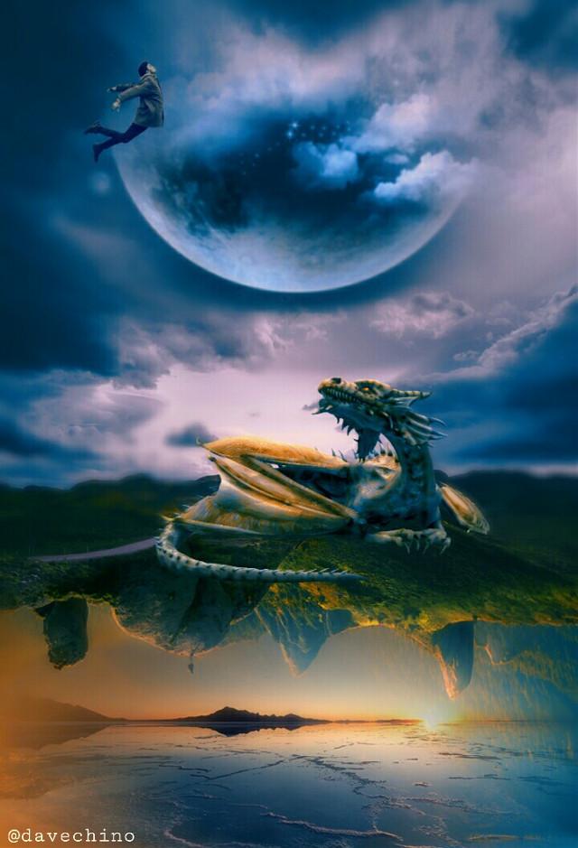 #upsidedown #levitation #mountain #dragon @freetoedit @picsart #conseptual #surreal #surrealist #surrealism #be_creative #myart #myedit