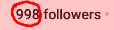 2 more followers!