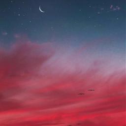 фон фоны небо ночь луна