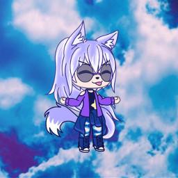 freetoedit gacha gachalife sky