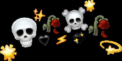 freetoedit roses skull crown