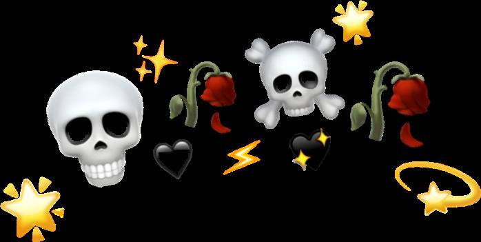#roses #skull #crown