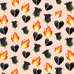 blackheart blackbrokenheart brokenheart heart black