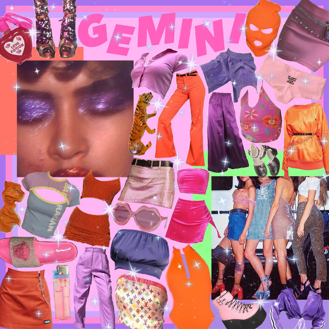 #freetoedit #gemini #starsign #astrology #astrological #pinkaesthetic #2000s #glam