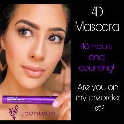 freetoedit younique needmoremakeup 4d mascara